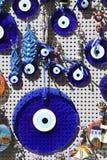 Blue Evil Eye Royalty Free Stock Image