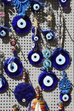 Blue Evil Eye Royalty Free Stock Images