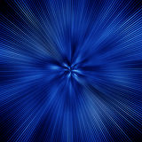 Blue explosion Royalty Free Stock Image