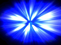 Blue Explosion Stock Images