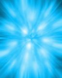 Blue explosion Stock Photos