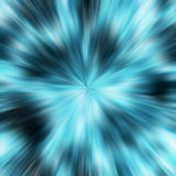 Blue explosion Royalty Free Stock Photos