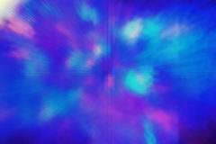 Blue explosion Stock Photography