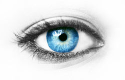 Blue eye Stock Photo