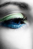 Blue eye stock photography