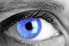 Blue eye Stock Images