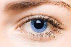 Blue eye Stock Photos