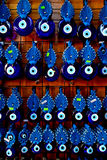 Blue eye amulets, Turkey Royalty Free Stock Photo