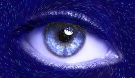 Blue, Eye, Close Up, Beauty Stock Image