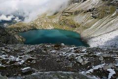 Blue eye - mountain lake Stock Photos