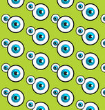 The blue eye patterns Stock Photos