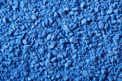 Blue eye shadow crushed texture background Stock Photography