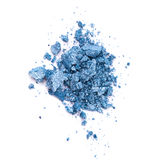 Blue eye shadow Royalty Free Stock Images
