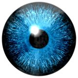 Blue eye texture stock illustration