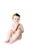 Blue-eyed child Stock Image