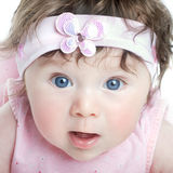 Blue eyed child Stock Photography