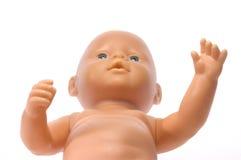 Blue eyed doll stock image