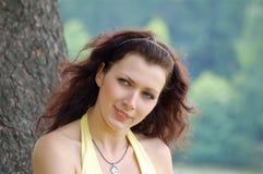 Blue-eyed girl Royalty Free Stock Images