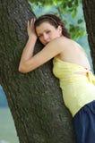 Blue-eyed girl Royalty Free Stock Image