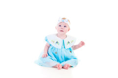 Blue-eyed girl Royalty Free Stock Images