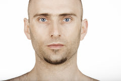 Blue eyed man Stock Photography