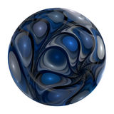 Blue eyed marble Stock Photography
