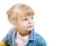 Blue eyed toddler Stock Photography