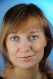 Blue-eyed women. Royalty Free Stock Photo