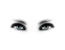 Free Blue Eyes Royalty Free Stock Photography - 14053927
