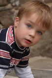 Blue eyes. Aint he beautifull Stock Photo