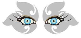 Blue eyes Royalty Free Stock Images
