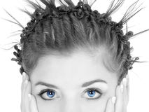 Blue Eyes Royalty Free Stock Photography