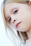 Blue eyes girl Royalty Free Stock Photography