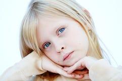 Blue eyes girl Royalty Free Stock Image
