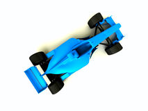 Blue f1. Top blue race car f1 Stock Images