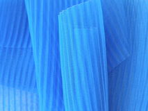 Blue fabric Stock Image