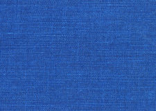 Blue fabric. Detail of blue book cover Stock Photography