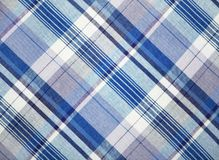 Blue fabric Royalty Free Stock Photo