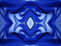 Blue fabric abstract Royalty Free Stock Photography