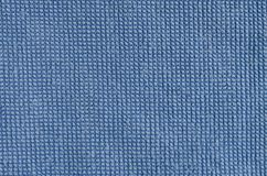 Blue fabric background Royalty Free Stock Photos