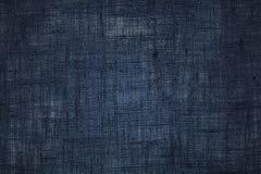 Blue fabric background Stock Photo