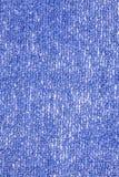 Blue fabric background macro Stock Photos