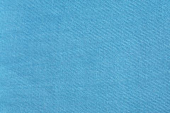 Blue fabric background Royalty Free Stock Photography