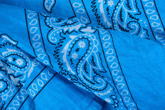 Free Blue Fabric, Bandana Stock Photo - 11233250