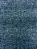Blue Fabric. Close up photo of deep blue woven fabric Stock Photo