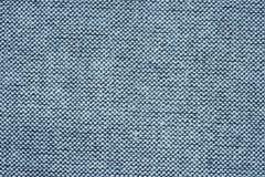 Blue fabric closeup Royalty Free Stock Photography