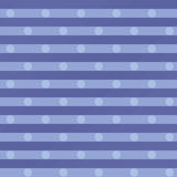 Blue fabric with dots Stock Photo