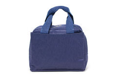 Blue Fabric Handbag. Royalty Free Stock Image