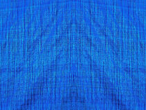 Blue fabric with lines as a background or texture Royalty Free Stock Photos
