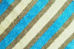 Blue fabric pattern Royalty Free Stock Images
